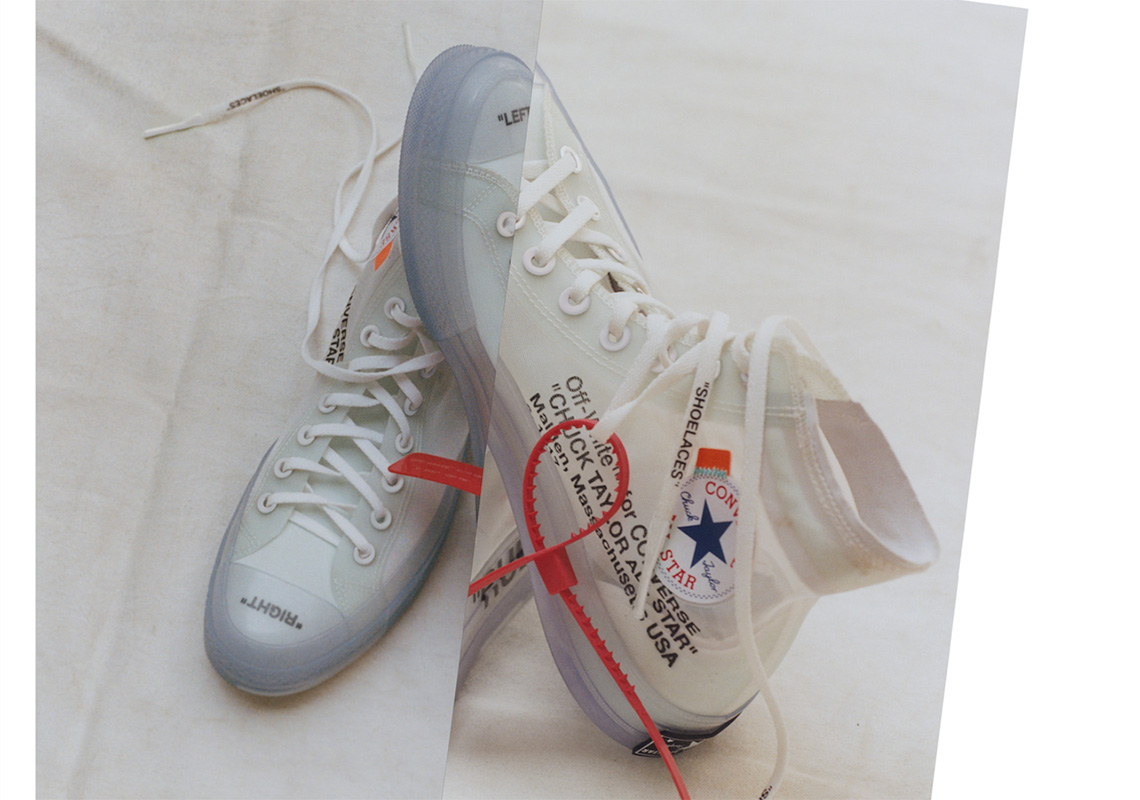 OFF WHITE x Converse Chuck Taylor Official Release Info