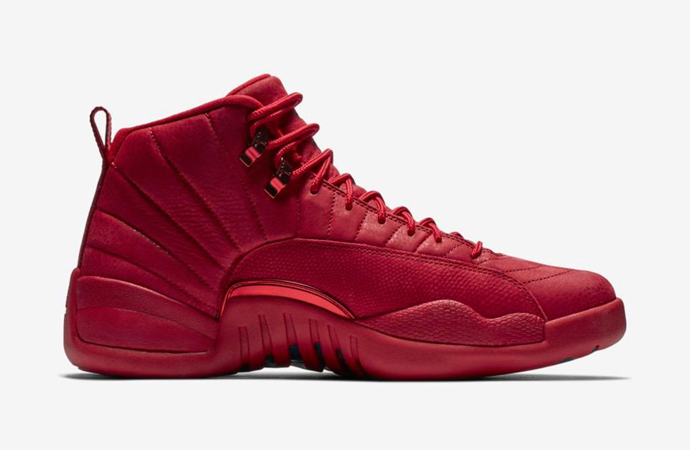 "71496aede000 Air Jordan 12 ""Bulls"". Color  Gym Red Black-Black Style    130690-601  Release Date  10 00 AM EST"